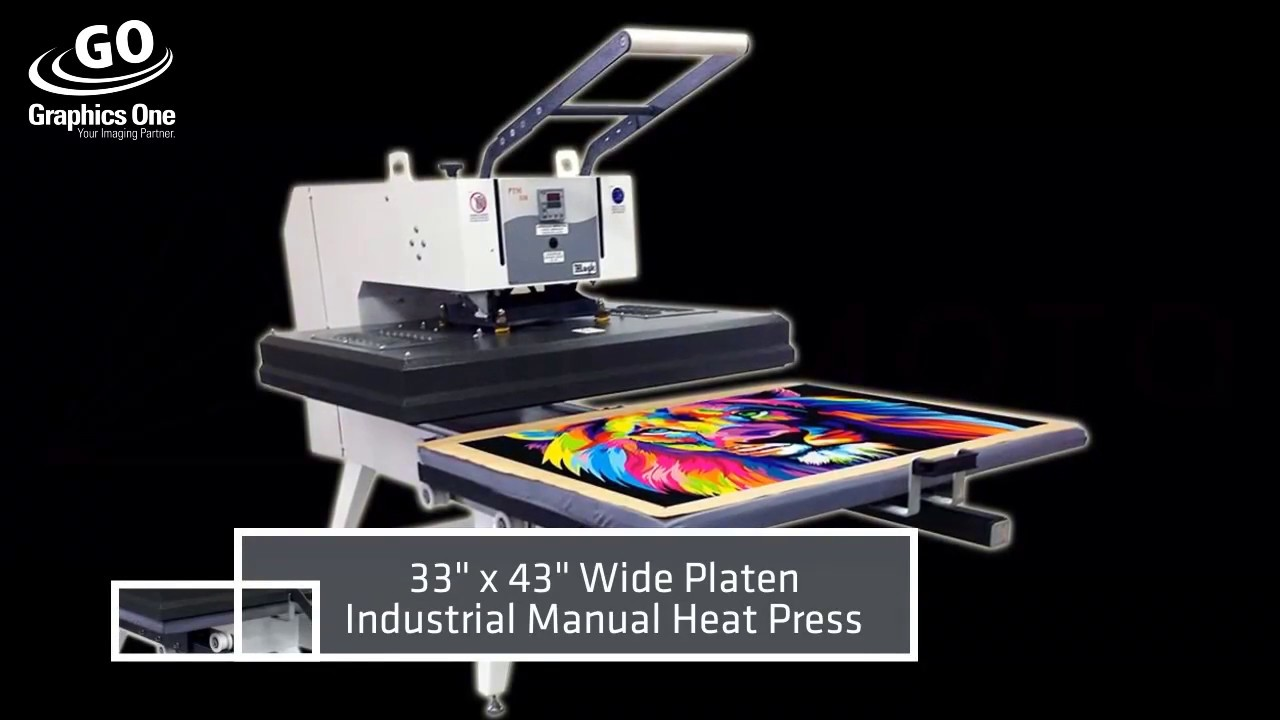 Mogk PTM-110 Manual Pull-Out Drawer Heat Press