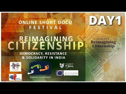 Day 1 - Reimagining Citizenship | Online Short Docu Festival | Karwan e Mohabbat