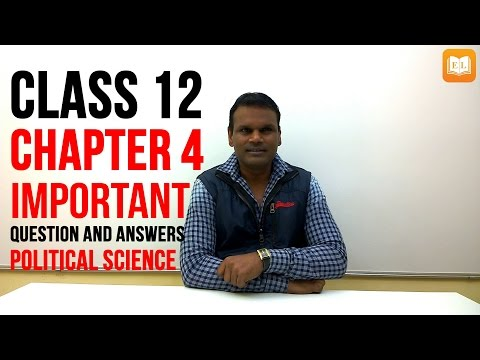 Alternative Centres Of Powers Class 12 | Important Question And Answers for Exam | Hindi Explanation