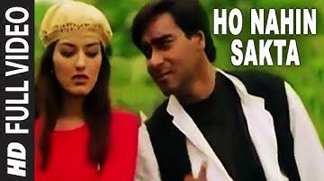 Ho Nahin Sakta Full Video Song | Diljale | Udit Narayan | Ajay Devgn, Sonali Bendre