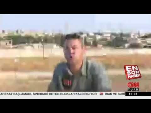 Cnn Türk muhabiri beni hemen yayına alın diyor! [ Barış Pınarı Harekâtı ]