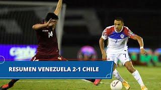 Venezuela vs Chile (2 - 1): resumen del partido – Eliminatorias Sudamericanas