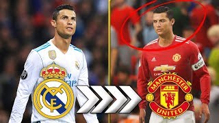 WHAT IF CRISTIANO RONALDO RETURNED TO MAN UNITED!?! FIFA 18 CAREER MODE
