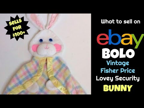 EBay BOLO   Fisher Price Plush Sells For Over $100