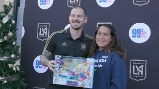 LAFC Hosts Holiday Toy Drive