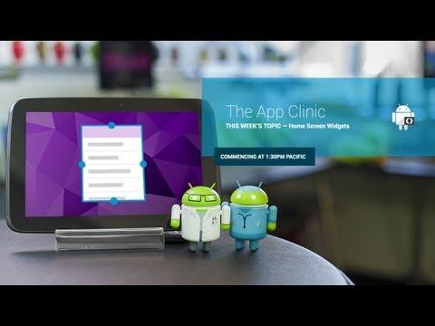 The App Clinic: Home Screen Widgets