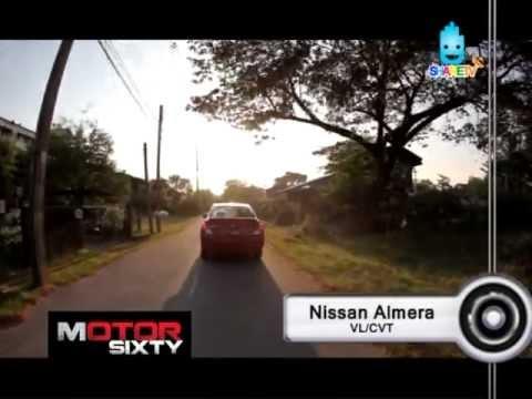 2012 Test drive Nissan Almera VL/CVT : Episode 2