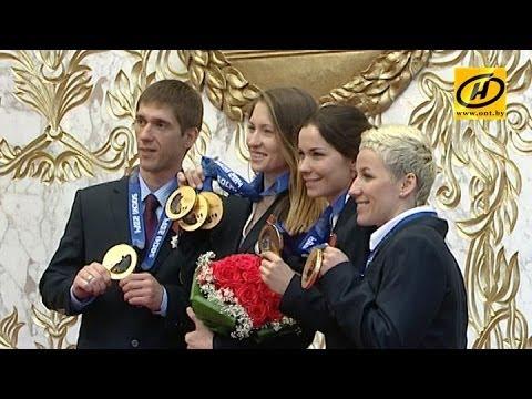 Президент вручил награды героям Олимпийских игр в Сочи (расширенная версия)