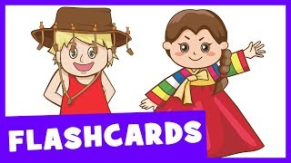 Learn Nationalities of the World | Talking Flashcards thumbnail