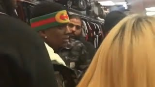 Soulja Boy Tries To Walk Out Shoe Store Without Paying Gets Checked By Security
