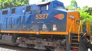 CSX Train Meet W/ Western MD Sticker Heritage Unit