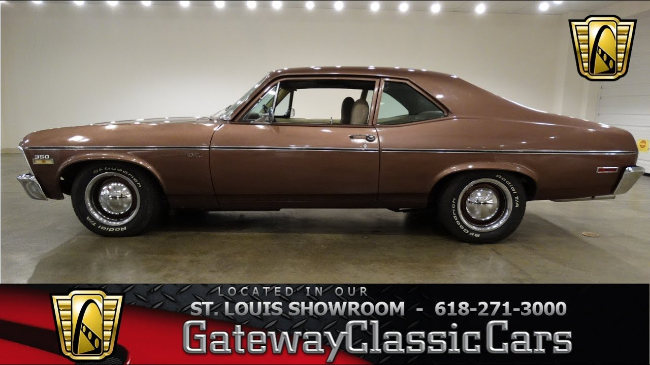 1971 Chevrolet Nova Stock #6586 Gateway Classic Cars St. Louis Showroom