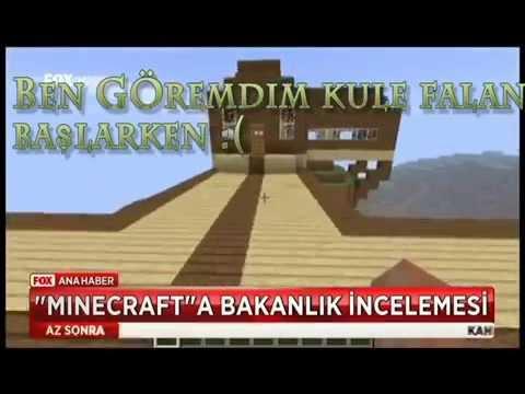 Minecraft Türkiye'de Yasaklanıyor Montaj xD