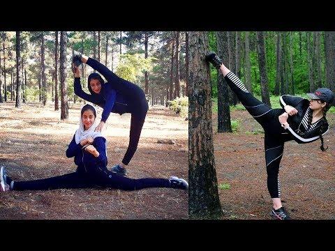 Iranian Girls Taekwondo Athletes Training And Best Kicks Skills