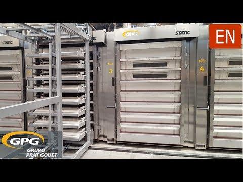 Stone baking STATIC REFRAC PLUS thermal oil ovens | GPG GRUPO PRAT GOUET