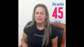 Eliana Perdió 45 Libras
