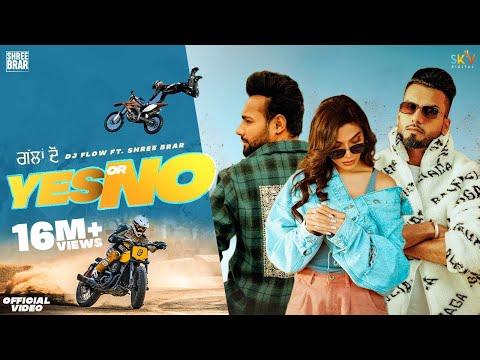 Yes Or No (Full Video) Dj Flow Ft. Shree Brar   Swaalina   Proof  B2Gether Sky New Punjabi Song 2021