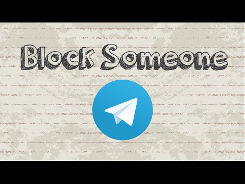 How to block someone on Telegram Messenger from YouTube · Duration:  1 minutes 57 seconds