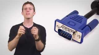 Шнуры VGA, DVI, HDMI.Применение и характеристики.