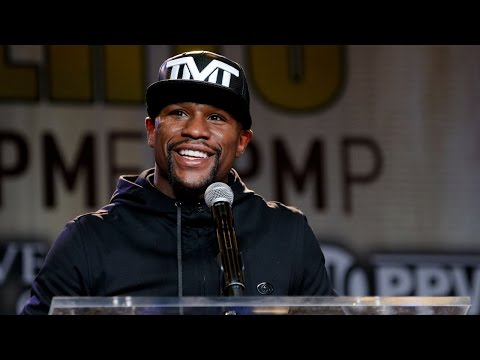 Floyd Mayweather vs. Andre Berto: Kickoff Press Conference | Thursday, August 6th