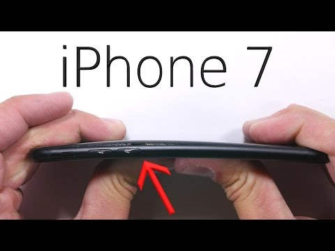Thumbnail: iPhone 7 Scratch test - BEND TEST - Durability video!