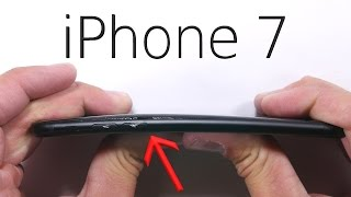iPhone 7 Scratch test - BEND TEST - Durability video! thumbnail