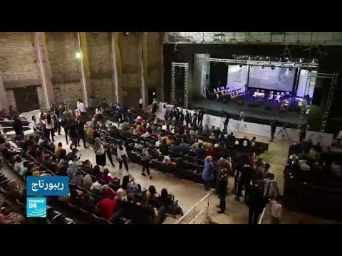 عرض موسيقي يعيد الحياة إلى مسرح الموصل المركزي بعد أن دمره تنظيم -الدولة الإسلامية-  - 16:00-2021 / 4 / 20