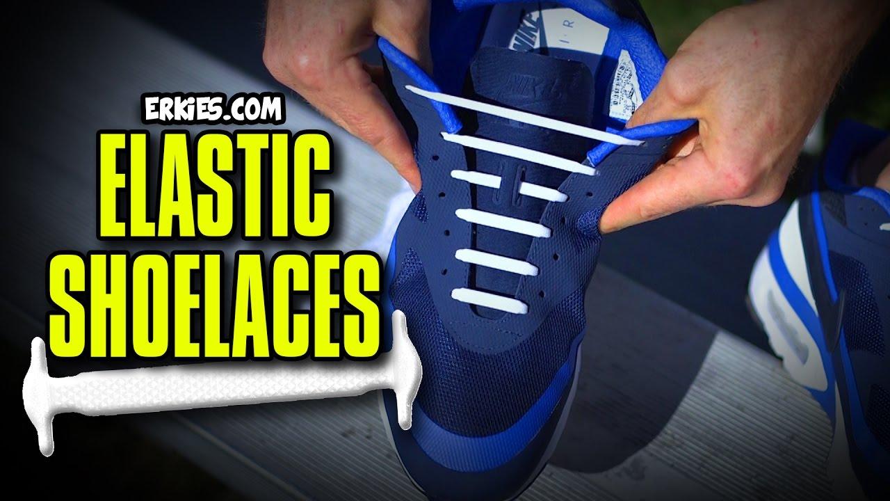 No Tie Shoelaces - YouTube