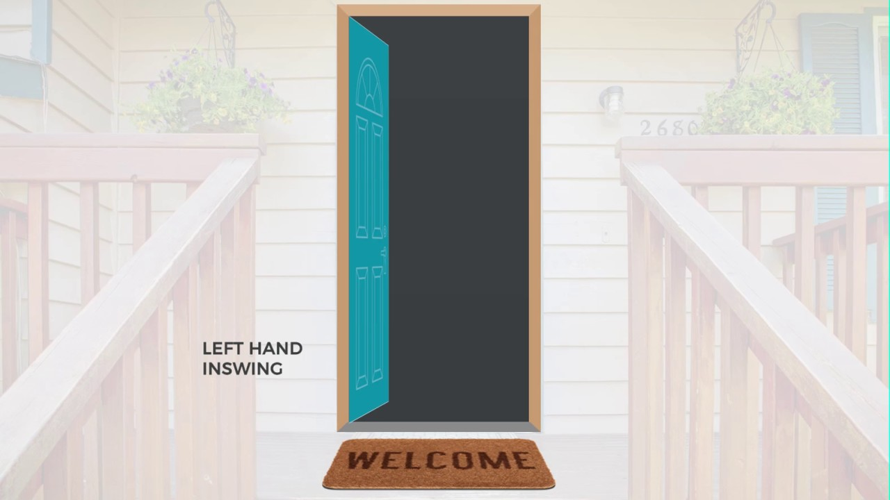 Left Hand Inswing Door Youtube