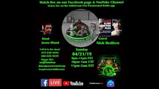 Paranormal Soup Ep 179 guest Nick Redfern