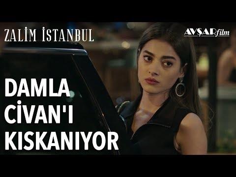 Damla Civan'ı Kıskanıyor | Zalim İstanbul 5. Bölüm