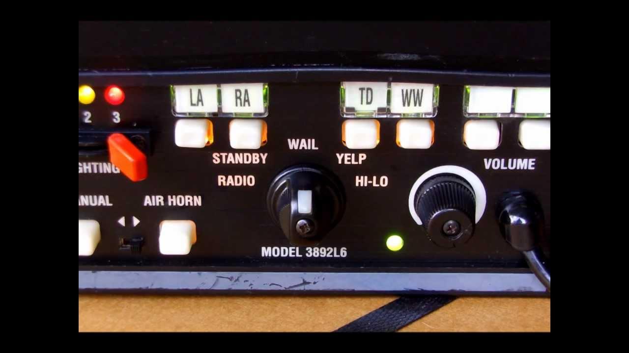 code 3 mastercom siren tones [ 1280 x 720 Pixel ]