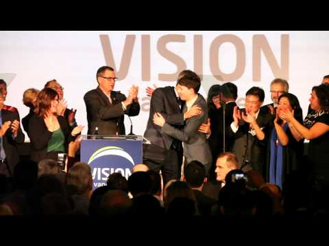 Vancouver Mayor Gregor Robertson's victory speech - 2014