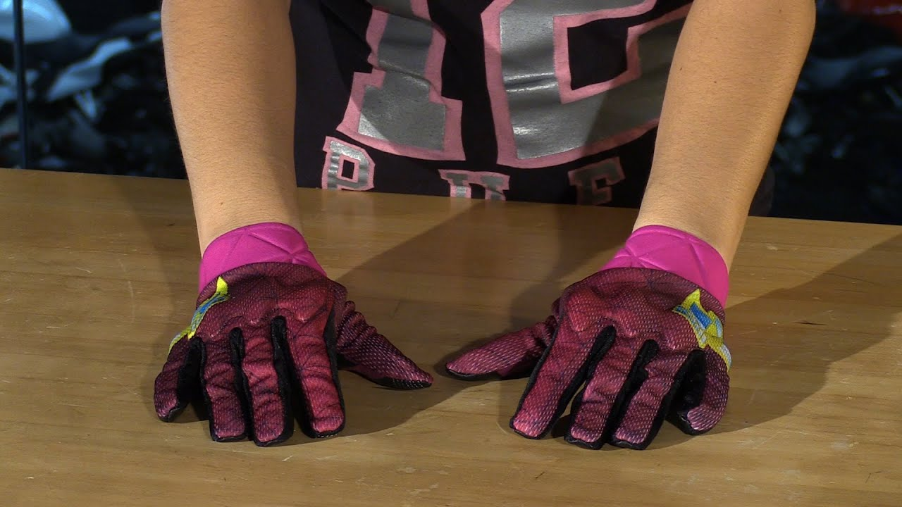 Womens pink leather motorcycle gloves - Icon Anthem Blender Womens Leather Textile Motorcycle Gloves Review
