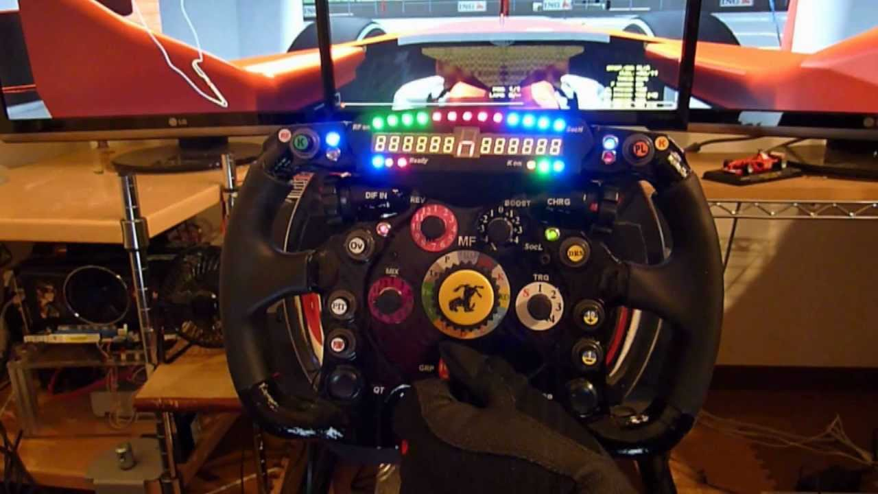 thrustmaster t500rs ferrari f1 wheel add on modify youtube. Black Bedroom Furniture Sets. Home Design Ideas