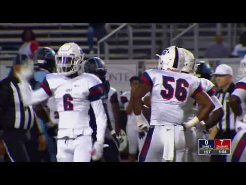 Game Replay:  John Ehret vs. Zachary (Louisiana)