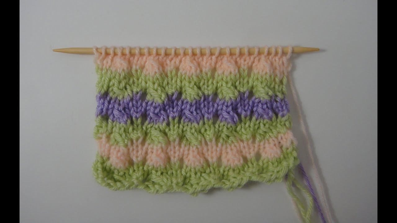 70 teje conmigo un punto para manta de bebe youtube for Mantas de lana hechas a mano
