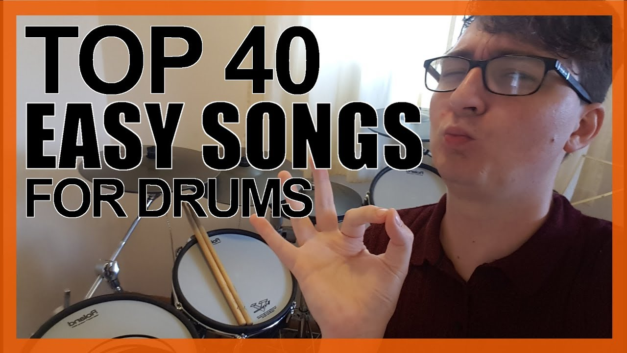 Top 40 Easy Songs To Play On Drums For Beginners - www DrumsTheWord com