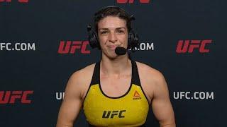 UFC Vegas: Mackenzie Dern Post-fight Interview