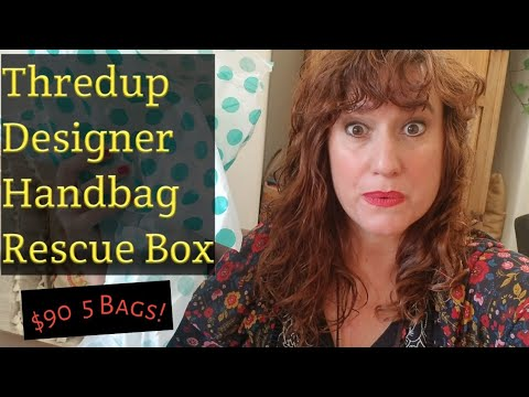 Thredup DESIGNER HANDBAG Unboxing Rescue Reject Box Review Mystery | $90 Kate Spade