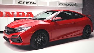 2020 HONDA CIVIC Coupe - HOTTEST Look!