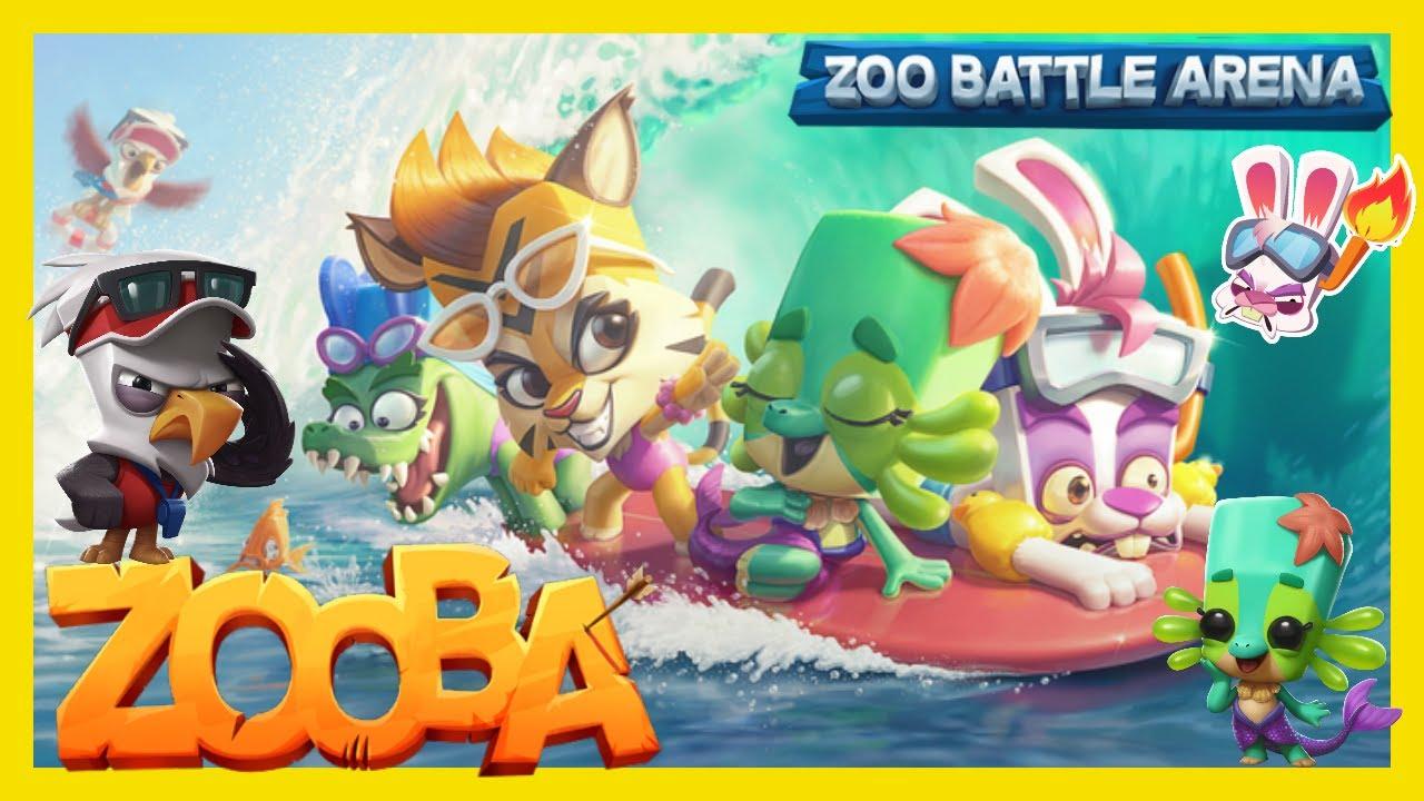 -ZOOBA-Cooles Sommer Update mit Mega Skins & mehr! Ich stelle Euch einen tollen Zooba Youtuber vor!