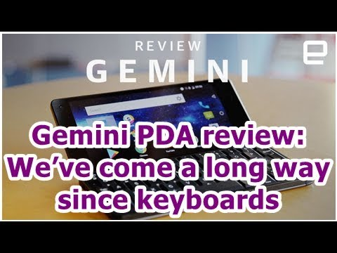 24h News - Gemini PDA review: We've come a long way since keyboards