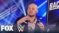 King Corbin joins WWE Backstage to break down the villain role | WWE BACKSTAGE | WWE ON FOX