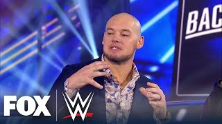 King Corbin joins WWE Backstage to break down the villain role | WWE BACKSTAGE | WWE ON FOX