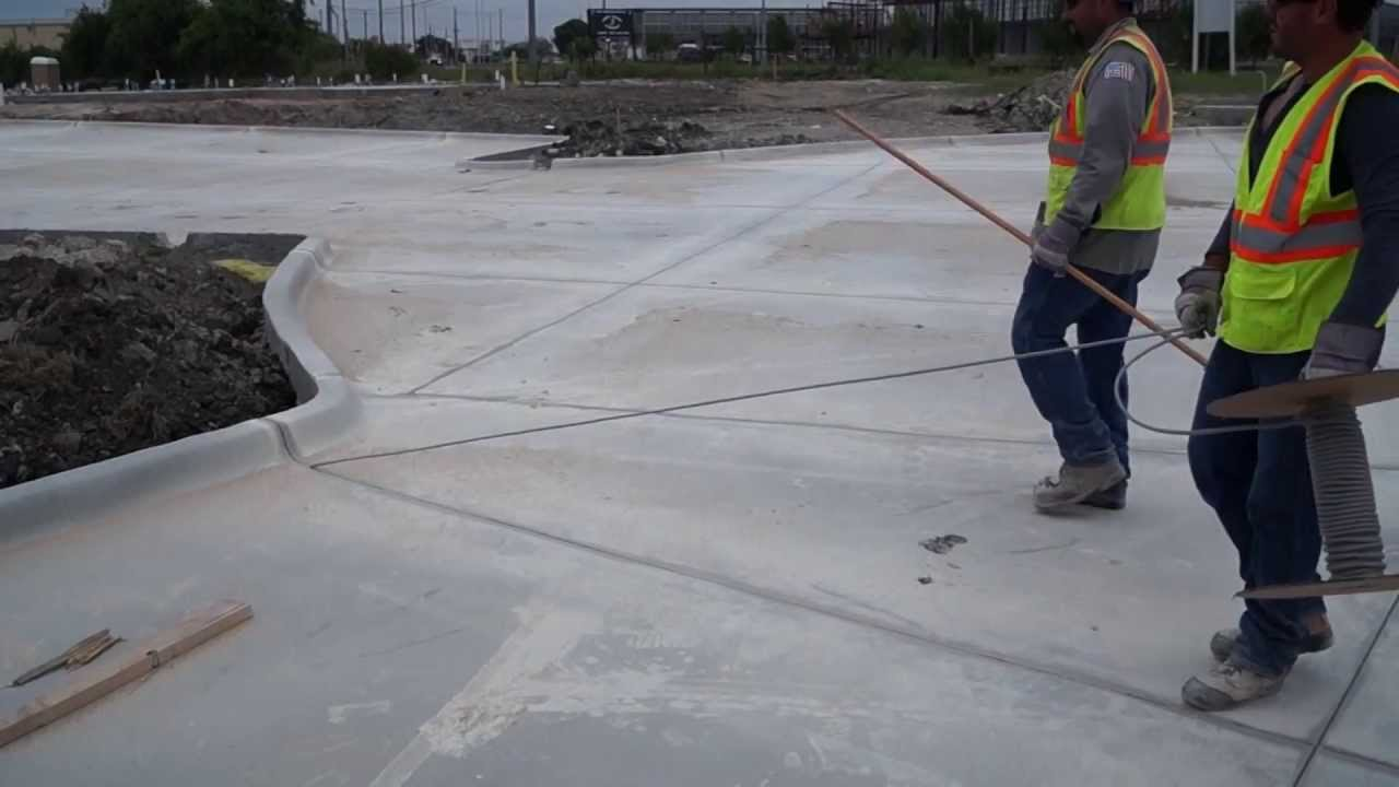 Texas Concrete Sealing Control Amp Expansion Joint Sealing
