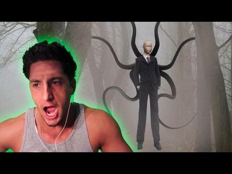 SLENDER SCARED THE SH*T OUT OF ME!