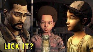 Did you lick it 2.0 - The Walking Dead The Final Season Episode 3 Broken Toys