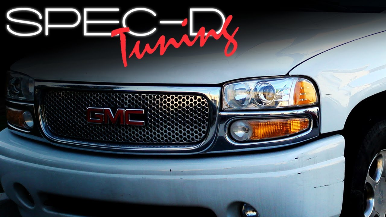 Specdtuning Installation Video 2000 2006 Gmc Denali Bumper Lights 2004 Yukon Wiring Diagram