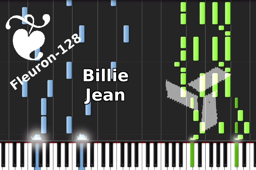 Billie Jean Eden Cover By Michael Jackson Synthesia Youtube